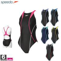 ★スピードの競泳水着!!  ●伸縮性に優れ、透けにくい厚手素材を使用した、シンプルなマスターズ向けモ...