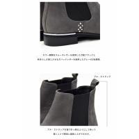 サイドゴアブーツ 日本製 本革 Celica by BARCLAY セリカ バイ バークレー 04-8289 スタッズ使い メッキヒール ショートブーツ