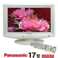 Panasonic パナソニック17型液晶テレビTH-L17X10PS(L17X1PS)(L17X1-S)中古j1705 tv-074