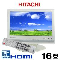 HITACHI 日立 液晶テレビ 16型 地デジ対応 2010~2011年製 16L-X700中古 j1732