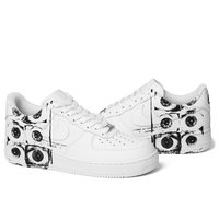 923044-100 NIKE AIR FORCE 1 07 SUPREME CDG COMME D...