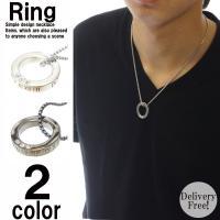 芸能人着用モデルビックリングネックレス リングには3つならんだクリスタル配置され リングは外して指輪...