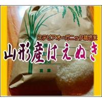 米 山形産はえぬき ステビア有機農法の結晶米 5kg 2018年新米|p-orange