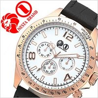 腕時計 ネスタブランド NESTABRAND 【型番】SM47PG-BK【ケース】材質:ステンレスス...