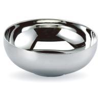 【期間限定SALE】『食器』ステンレス真空冷麺器・二重構造(21cm×6.6cm)