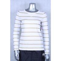 チャータークラブ セーター ニット Charter Club ホワイト ゴールド 長袖 Strip セーター サイズ PP 59LAFO