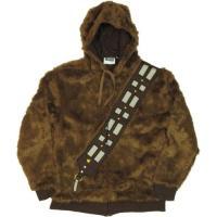 海外セレクション メンズ スゥエット パーカー Star Wars I AM Chewbacca Wookie Costume Licensed Zip Up Furry Hoodie S-XXL