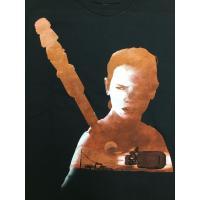 海外セレクション メンズ Tシャツ Star Wars Force Awakens Rey Silhouette Officially Licensed Graphic T Shirt