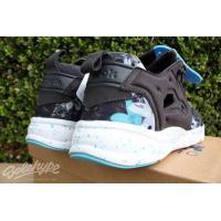 リーボックアスレチック シューズ 靴REEBOK FURYLITE NP ネオン POP SZ 8 COAL グレー ネオン ブルー ホワイト V69505
