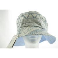 海外セレクション 帽子 ハット コレクション XIIX レディース Hat Panama OS デニム ブルー コットン Blend Regular LAFO