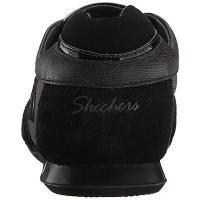 アスレチック シューズ 靴 スケッチャーズ Skechers 4114 レディース Bella ブラック レザー メタリック ファッション スニーカー シューズ 10