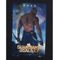 Tシャツ ガーディアンズオブギャラクシー Guardians Of The Galaxy Movie Drax Marvel Comics Licensed Adult Shirt S-XXL