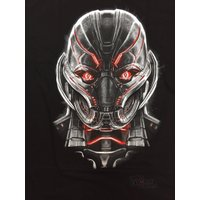 Tシャツ マーベルコミックス Avengers Age Of Ultron Evil Ultron Face Marvel Comics Licensed Adult Shirt S-XXL