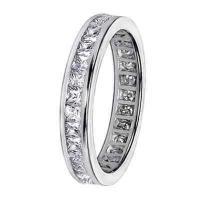 海外バイヤー厳選ブランド 結婚式  アニバーサリーバンド 14k/ 18k Gold 1.6-1.8ct TDW Diamond Eternity Wedding Band
