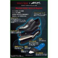 送料無料|アシックス商事 ビジネスシューズ texcy luxe テクシーリュクス 2E相当 ストレートチップ TU-7002 ブラック 25.0 _