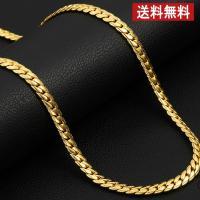 ●ゴールドコーティングでありながら、  重厚感のある質感で人気の  18KGP 喜平ネックレスです。...