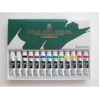 ●アクリルガッシュ・13本スクールセット 発売 : TURNER/ターナー色彩 寸法 : ケース外形...