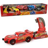 大人気カーズ2より、 付属のランチャーでビューンと走らせれるおもちゃ4台セットです。  専用のランチ...