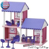 お子様大好き「お人形遊び」にアメリカらしい、 その名もアメリカン プラスチックトイズのドールハウスは...