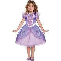 ディズニー公式品 可愛いソフィアの、ハロウィンや、クリスマス、パーティに着るコスチュームドレスです。...