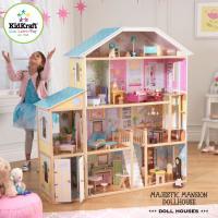 女の子の憧れ大きなドールハウス。 遊ばなくなっても、収納棚として重宝します。  バービー(30cmま...