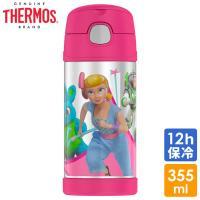 サーモス ステンレス ストロー 水筒 トイストーリー4 ボー・ピープ  ディズニー キャラクター THERMOS ステンレス水筒 350ml