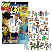 DM便対応/ タトゥーシール トイストーリー カラー キャラクター 140カット 大容量 タトゥー シート ディズニー