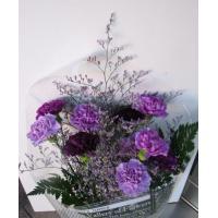 サントリー開発 ムーンダスト カーネーション 10本の花束 新色「アクアブルー」 特徴の一つはその色...