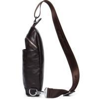 DANJUE本革 高級牛革 メンズ ボディバッグ 収納ショルダー便利 おしゃれ 人気 男性用D8080