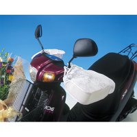 取寄 1699 SHB2000 バイク用 サマーハンドルカバー白 MARUTO 白 1双