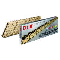 シールチェーン(Xリング) DID530ZVMX-120G 530ZVMX-120L(ゴールド) DID(大同工業) ゴールド 1本