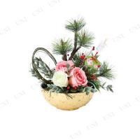 シンプルですが粋な花器です。新しい年を華やかに飾れます。  ※お届けは花器のみです。 ※商品にライン...