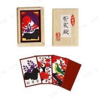 【商品】 花かるたは花札とも呼ばれ日本の伝統的カードゲームの一つであり、一組48枚のカードに12ヶ月...