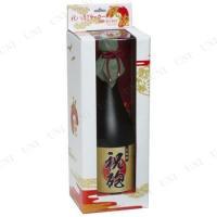 純和風!日本酒の一升瓶そっくりの形をした豪華演出用クラッカーです!めでたい紅白の紙テープが大量に飛び...
