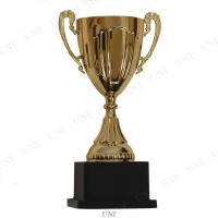 様々なシーンの表彰式に!金色のカップ型トロフィーです。軽量でお子様でも持ちやすく、どんな表彰でも使い...