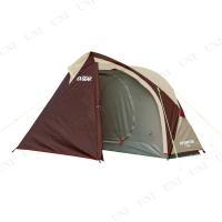 ワイドな前室と荷物室兼用後面出入口を装備した1人用テントです。軽くて丈夫なアルミ製ポールを色分けする...