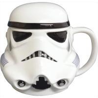 スターウォーズの兵士ストームトルーパーのマグカップ! カッコいいトルーパーマスクがそのままマグに! ...