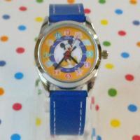 高級感のある合皮素材のベルトで付け心地の良い人気ディズニーキャラクターの腕時計の登場です。♪    ...