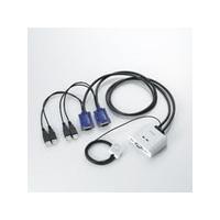 エレコム USBパソコン切替器 (PC2台切替) KVM-KUSN