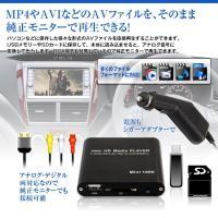 ・純正モニターや当社HDMI対応モニターに接続して様々な形式の動画ファイルや音楽ファイルが楽しめる!...