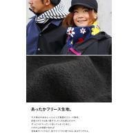 ネックウォーマー ほっかむり【日本製】 ふわふわフリース Wジップ 防寒 (ノマド) NOMADO
