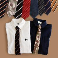 r150830036 [商品説明] ・付け外し簡単な、ワンタッチネクタイ。 ・温かみのある起毛素材。...