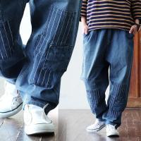 r161221069[商品説明]・ガツッと古着感のあるリペアデザインを入れたジーンズ。・好きな位置で...