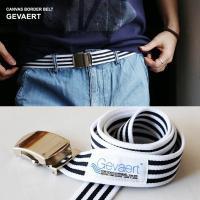 r170129002[商品説明]・GEVAERT社のテキスタイルを使った、国産のガチャベルト。・しっ...