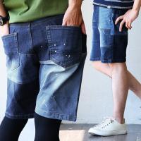 r170420011 [商品説明] これだけの個性派ショートパンツが手軽な穿きやすさ。 ・加工感のそ...