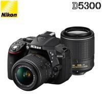 ■D5300 ダブルズームキット2〇AF-S DX NIKKOR 18-55mm f/3.5-5.6...