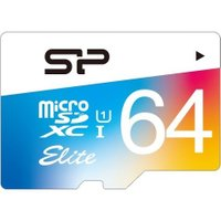SP064GBSTXBU1V20SP シリコンパワー UHS-1対応 microSDXCカード 64...