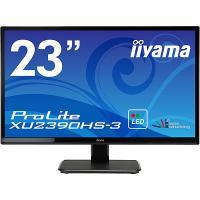 【在庫目安:あり】iiyama  XU2390HS-B3 23型ワイド液晶ディスプレイ ProLite XU2390HS-3 (LED、AH-IPS) マーベルブラック