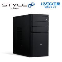 iiyama ミニタワーPC STYLE-M1B7-i5-UHS-M3 [Core i5-9400/8GBメモリ/240GB SSD+1TB HDD/Windows 10 Pro][BTO]