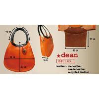 dean(ディーン) machine stitch tear-drop ショルダーバッグ elctlic blue(青)